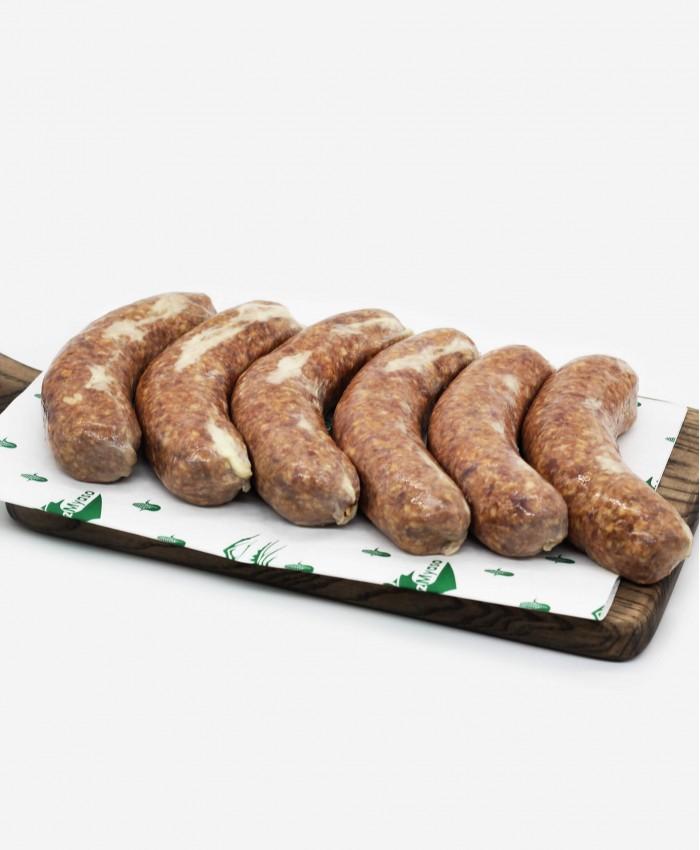 Говяжьи колбаски, ±1 кг.